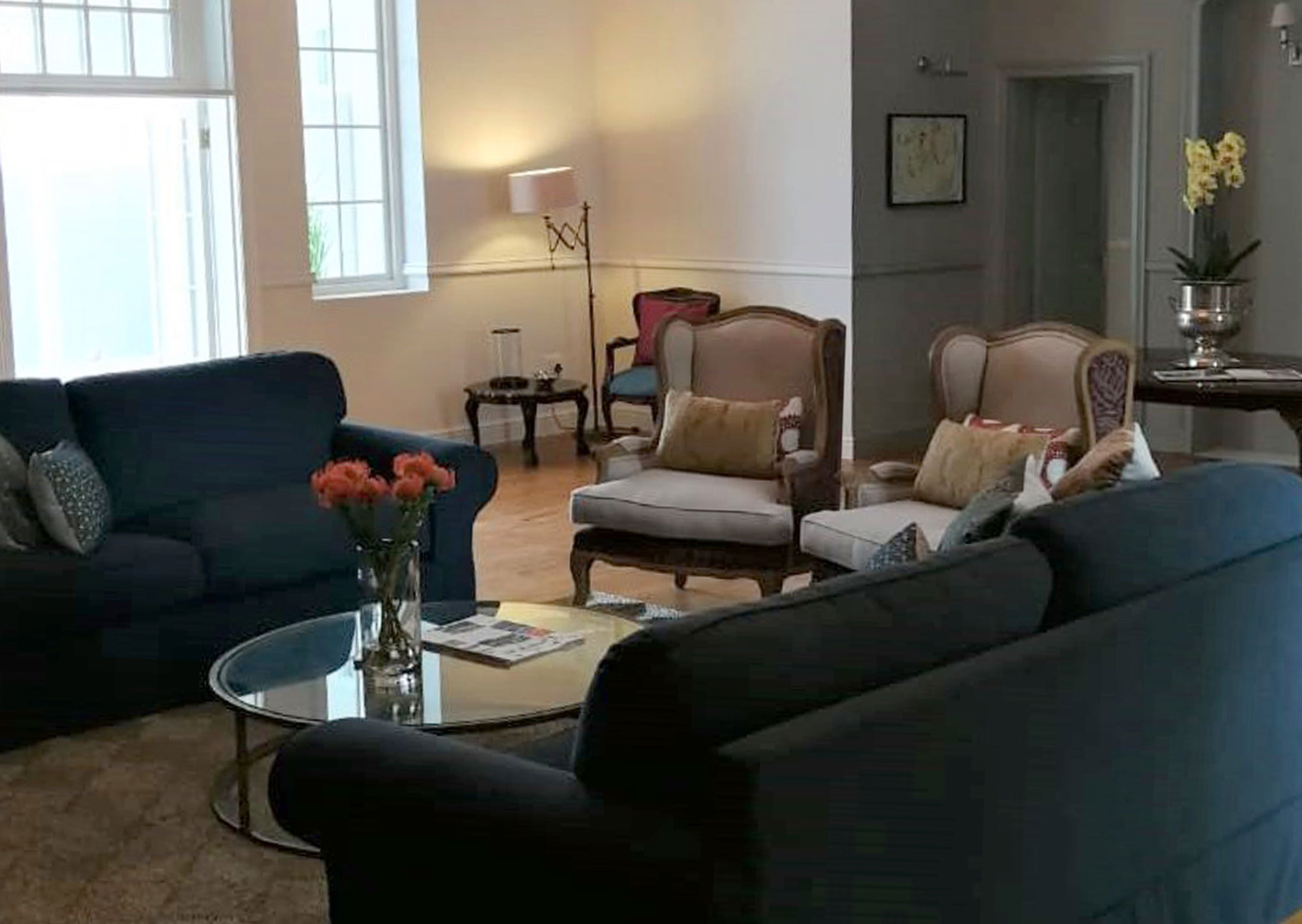 Lounge at The Chapter House Boutique Hotel